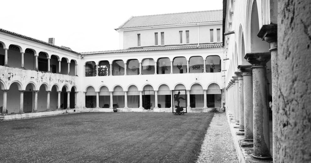 Biblioteca Municipal António Botto - Jardim Interior