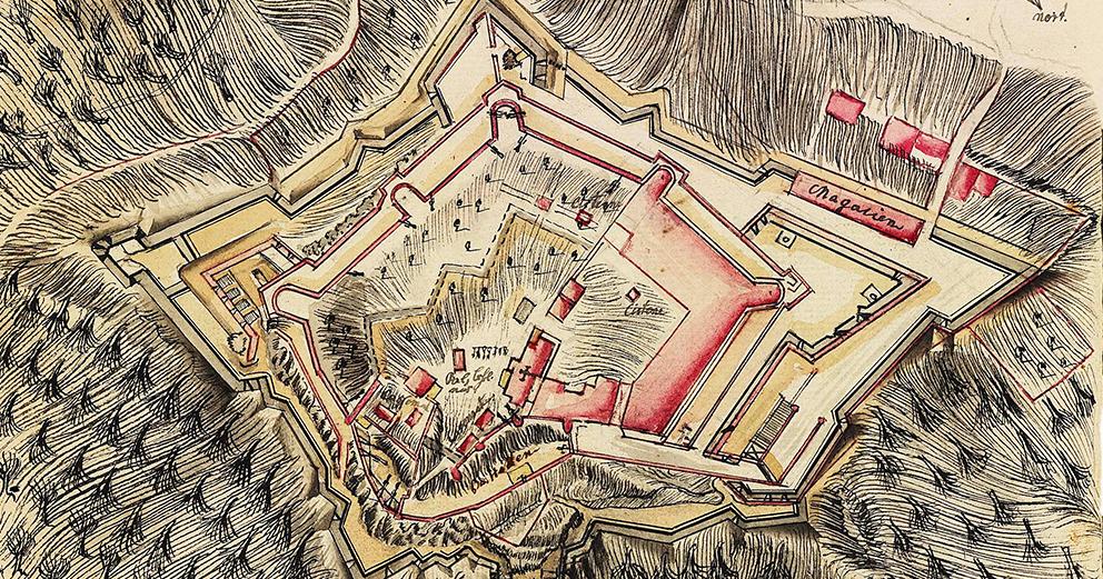 Exposição Cartografia militar de Abrantes: séculos XVIII a XX, de José Vieira