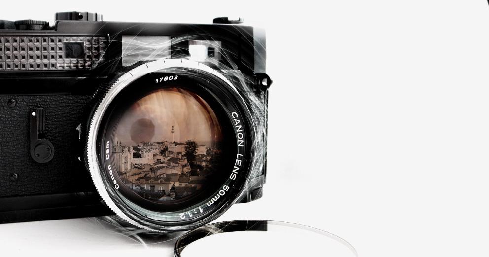 Exposição  de fotografia - Um presente com passado