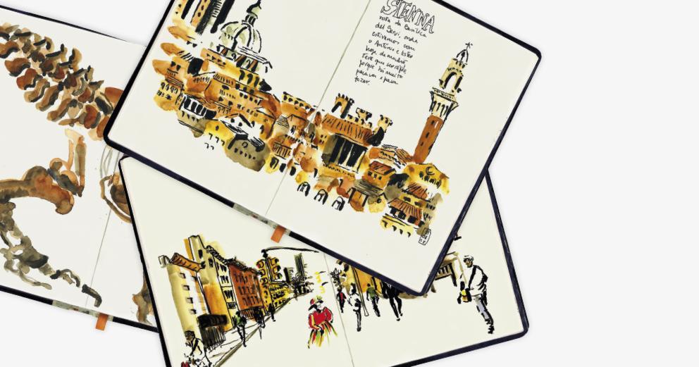 Cadernos de viagem de Abrantes