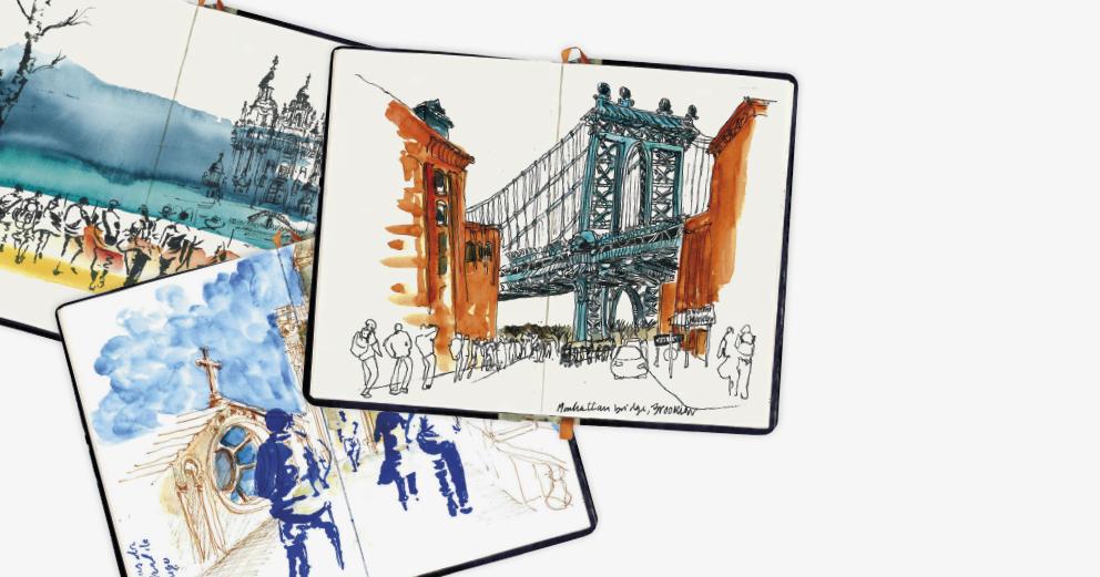 Desenhos da minha rua e mais além - Exposição de Teresa Ruivo