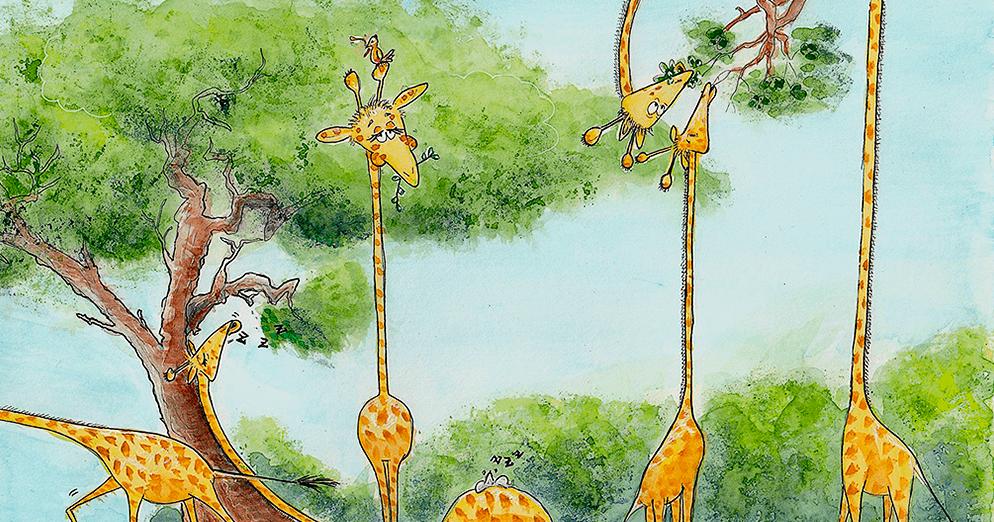 Abrantes a ler: leitura, identidade e cidadania - A girafa que queria ter riscas