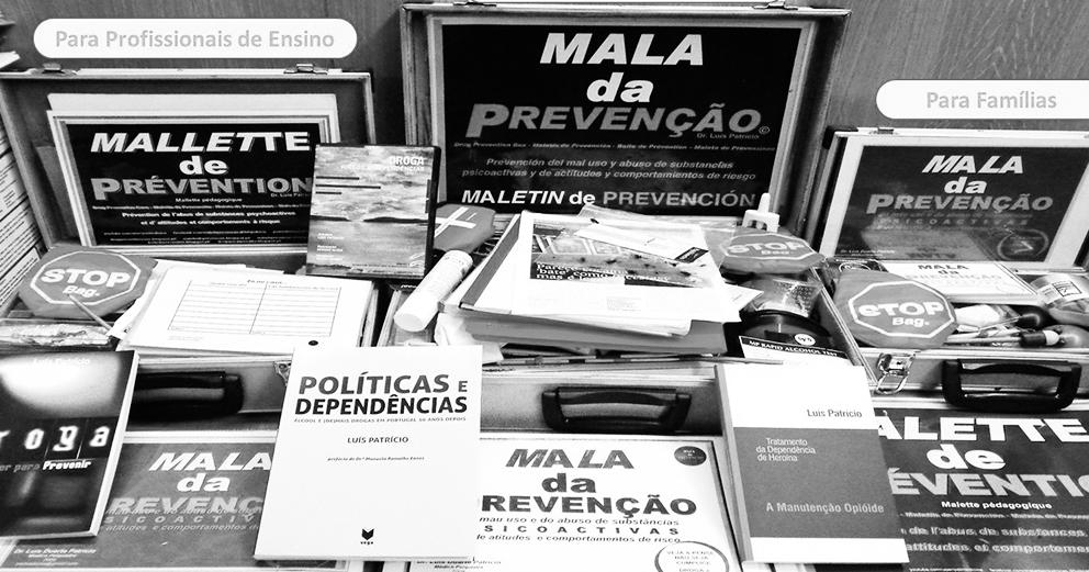 Exposição: Mala da Prevenção: Se é droga não presta. Se for sobre droga, desconfie